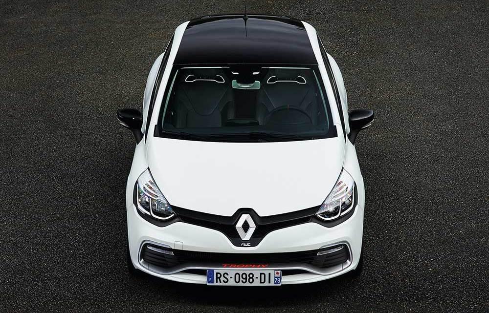 Renault Clio R.S.'e Trophy dopingi