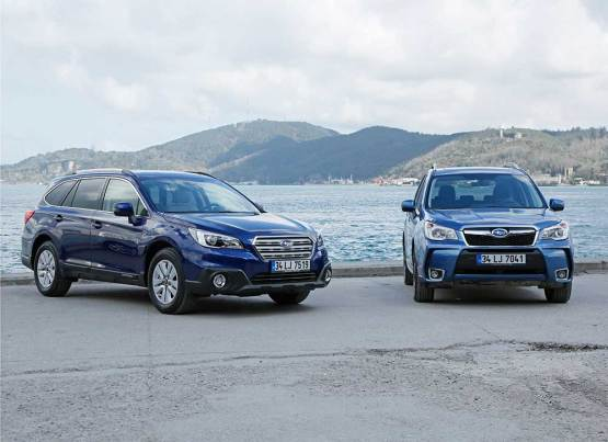 SUBARU OUTBACK VE FORESTER