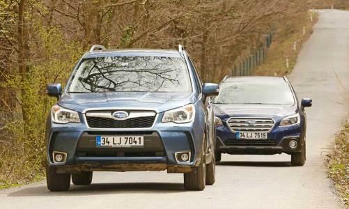 Dizel-otomatik Subaru Forester ve Outback Türkiye'de