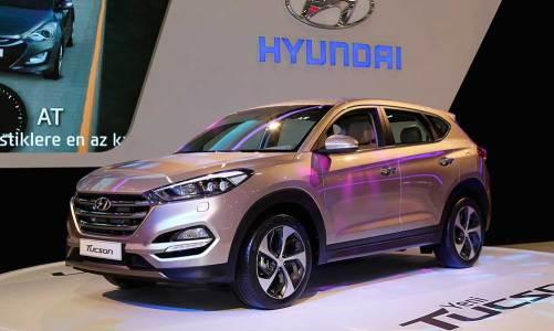Hyundai, Tucson ve i20 Coupe'yle fuarda öne çıktı