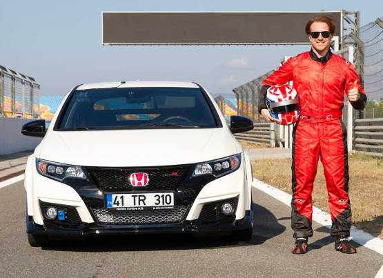 HONDA CIVIC TYPE R VE JASON TAHİNCİOĞLU