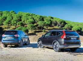 Honda CR-V mi, Nissan X-Trail mi?