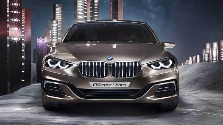 BMW kompakt sedan konseptini tanıttı