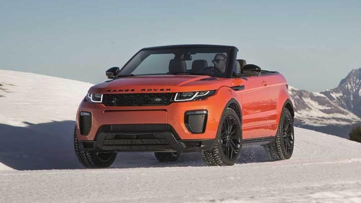Üstsüz Range Rover Evoque