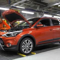 Hyundai i20 Active üretimi başladı
