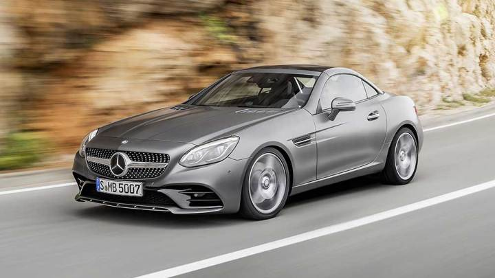 Mercedes SLK yerini SLC'ye bıraktı