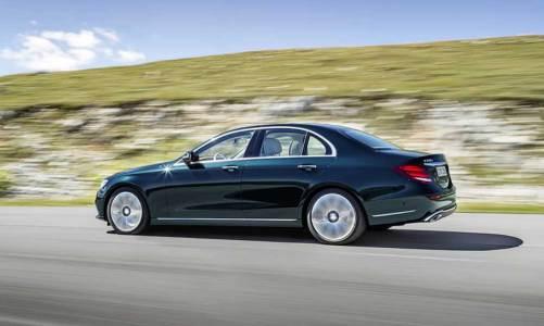 1.6 lt'lik Mercedes E-Serisi Türkiye'de