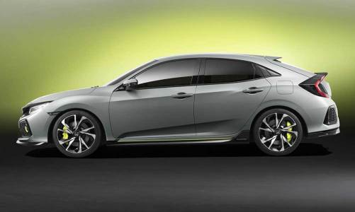 Yeni Honda Civic HB prototipi hazır