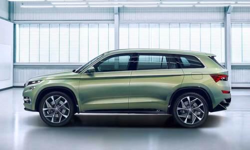 Skoda'nın yeni SUV konsepti: Vision S