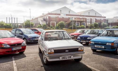Ford Fiesta 40 yaşını kutluyor