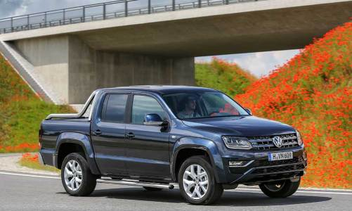 Yılın pick-up'ı VW Amarok