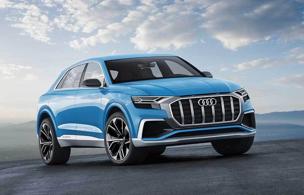 Audi'nin SUV geleceği: Q8 Concept
