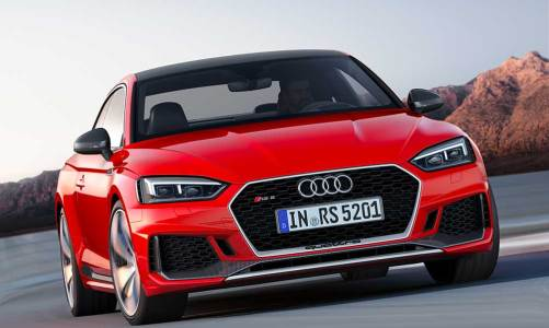 Audi'den 450 HP'lik RS 5 Coupe