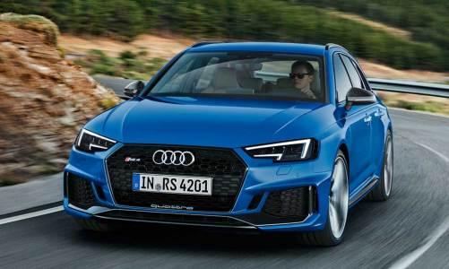 Audi'den muhteşem station: RS 4 Avant