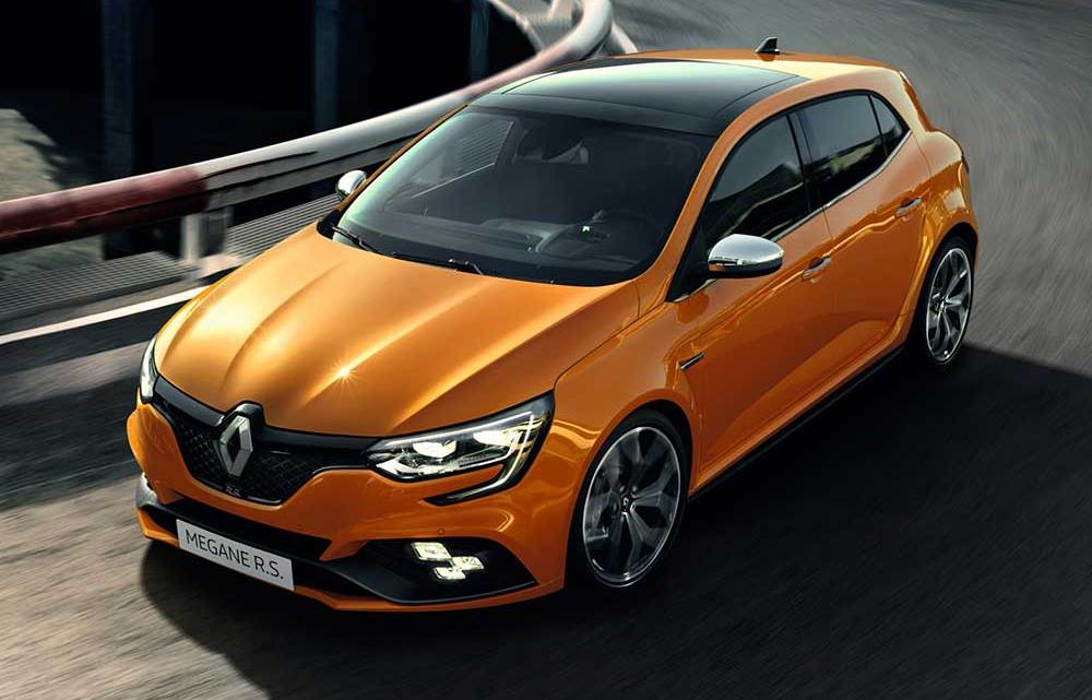 Ve karşınızda yeni Renault Megane R.S.