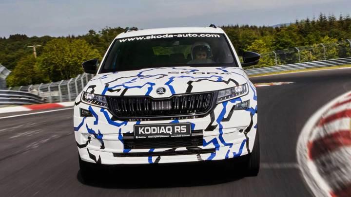 Skoda Kodiaq RS rekor kırdı