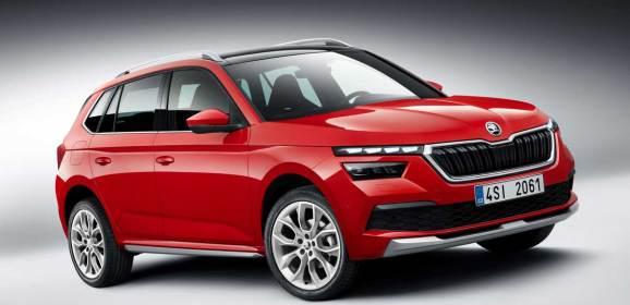 Skoda'nın yeni SUV'u Kamiq