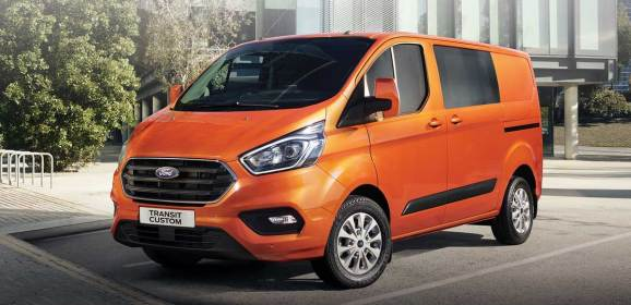 Ford Transit ve Tourneo Custom yenilendi