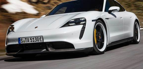 Porsche'nin ilk elektrikli modeli Taycan tanıtıldı