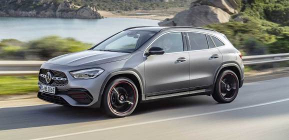 Mercedes yeni GLA'yı tanıttı
