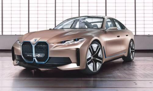 BMW i4 konseptini görücüye çıkardı