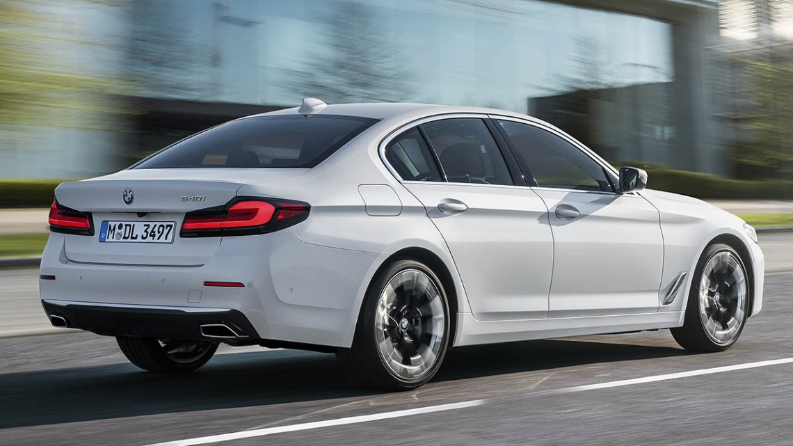 Yeni BMW 5 Serisi Bodrum'da