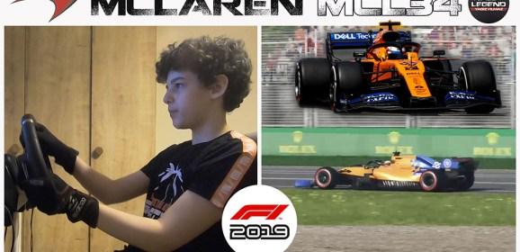 McLaren MCL34 ile podyumu zorlamak