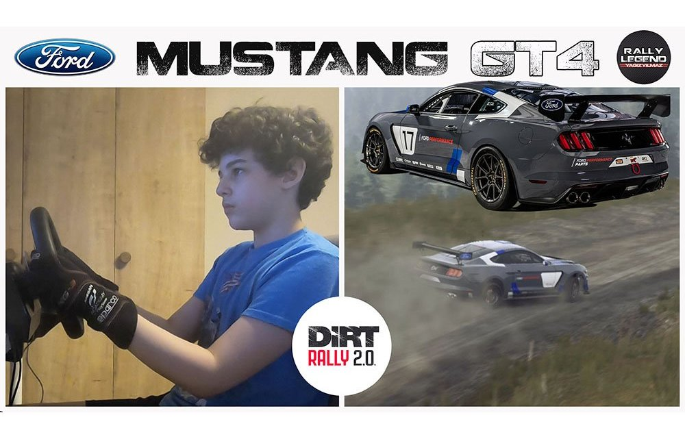 Ford Mustang ile ralli yapılır mı?