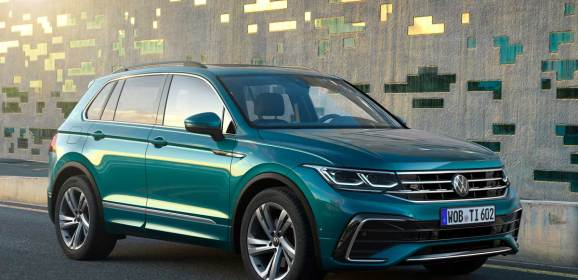 Volkswagen Tiguan makyajlandı