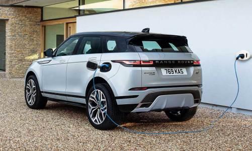 Yeni Range Rover Evoque'da 1.5 lt hibrit sürprizi