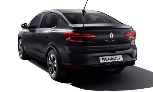 Renault Symbol artık Taliant oldu