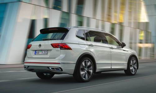 VW Tiguan Allspace makyajlandı