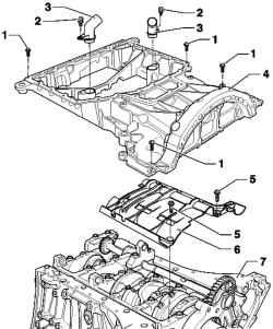 Lubrication system (diesel engines). Volkswagen Touareg