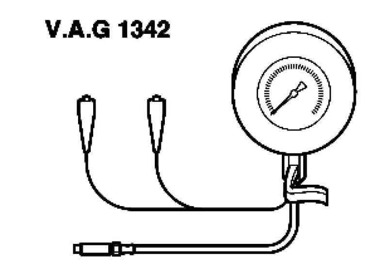 Checking oil pressure and oil pressure sensor. Volkswagen