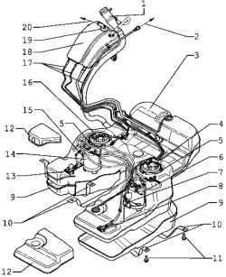 FUEL (beninovye engines). Volkswagen Touareg (from 2003 to