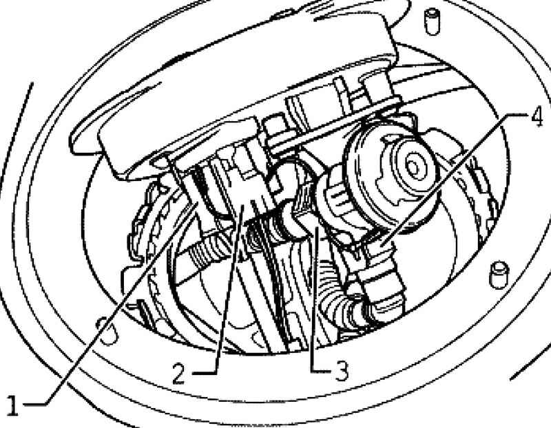 Removing and installing fuel delivery unit, the fuel level