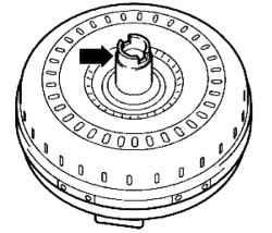 Check the torque converter. Volkswagen Touareg (from 2003