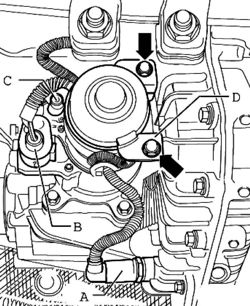 Removing the motor transfer case V253. Volkswagen Touareg