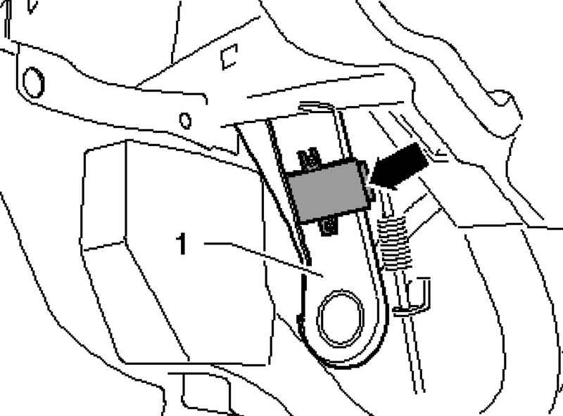Removing and installing control unit, tire pressure