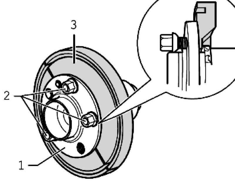Removing the wheel hub bearing. Volkswagen Touareg (from