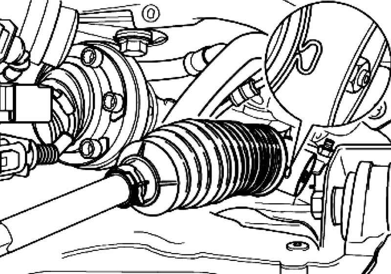 Removal and installation of steering draft. Volkswagen