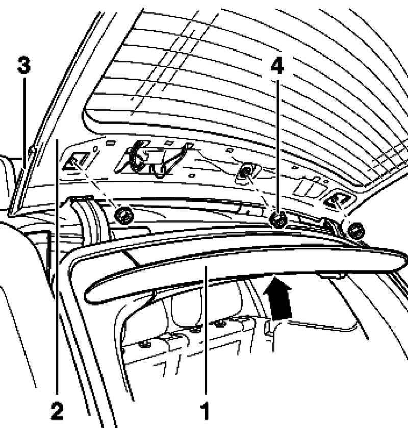 Removing and installing rear spoiler. Volkswagen Touareg