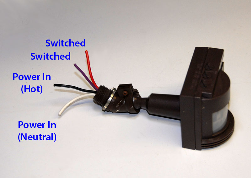 Motion Sensor Switch Wiring Diagram Motion Sensor Light Switch