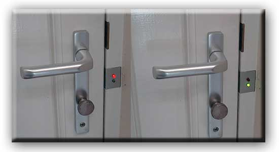 Led Door Lock Status Indicator Hack Automated Home