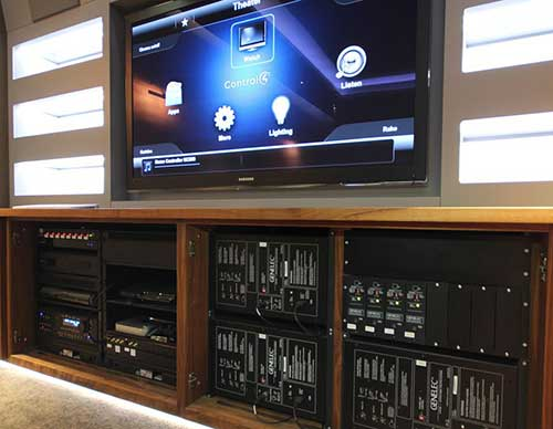 Home Automation Case Study: Control4 Home Cinema ...