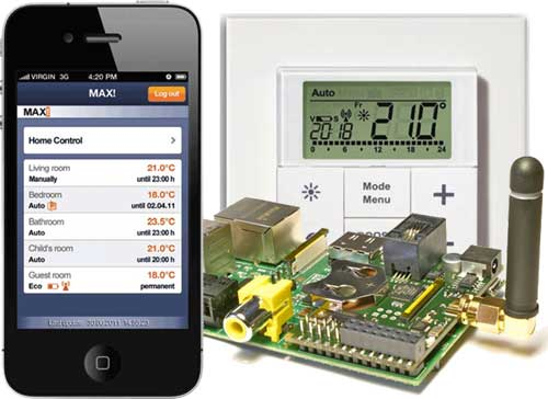 eq 3 max affordable wireless heating control with your smartphone or raspberry pi automated home. Black Bedroom Furniture Sets. Home Design Ideas