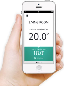 Honeywell evohome iPhone App