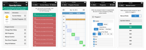 OpenSprinkler App