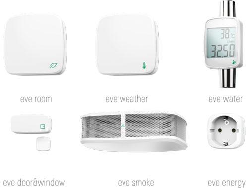 Elgato Eve HomeKit Smart Sensors