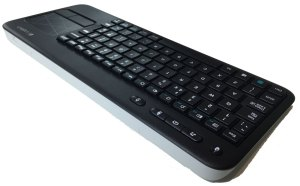 Logitech K400 Wireless Touch Keyboard - Rear